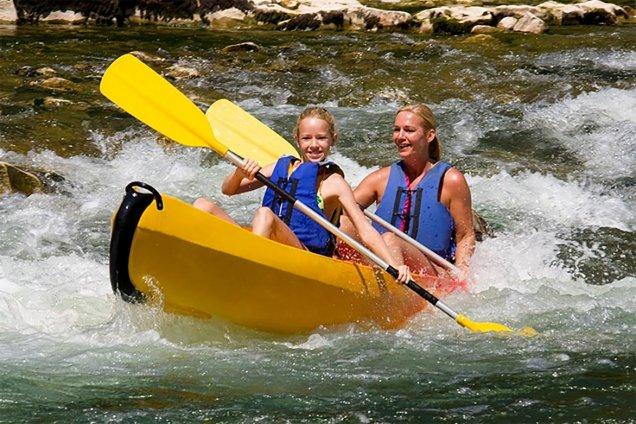 vertes sensations canoe